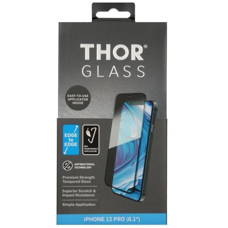 Thor 2D Edge to Edge Glazen Protector iPhone 12 / 12 Pro 6.1 - 1