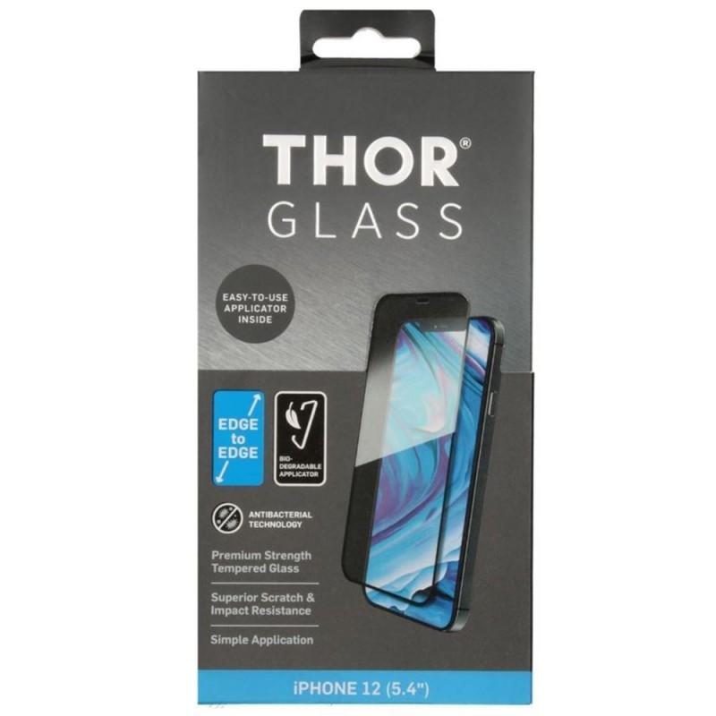 Thor 2D Edge to Edge Glazen Protector iPhone 12 Mini - 1