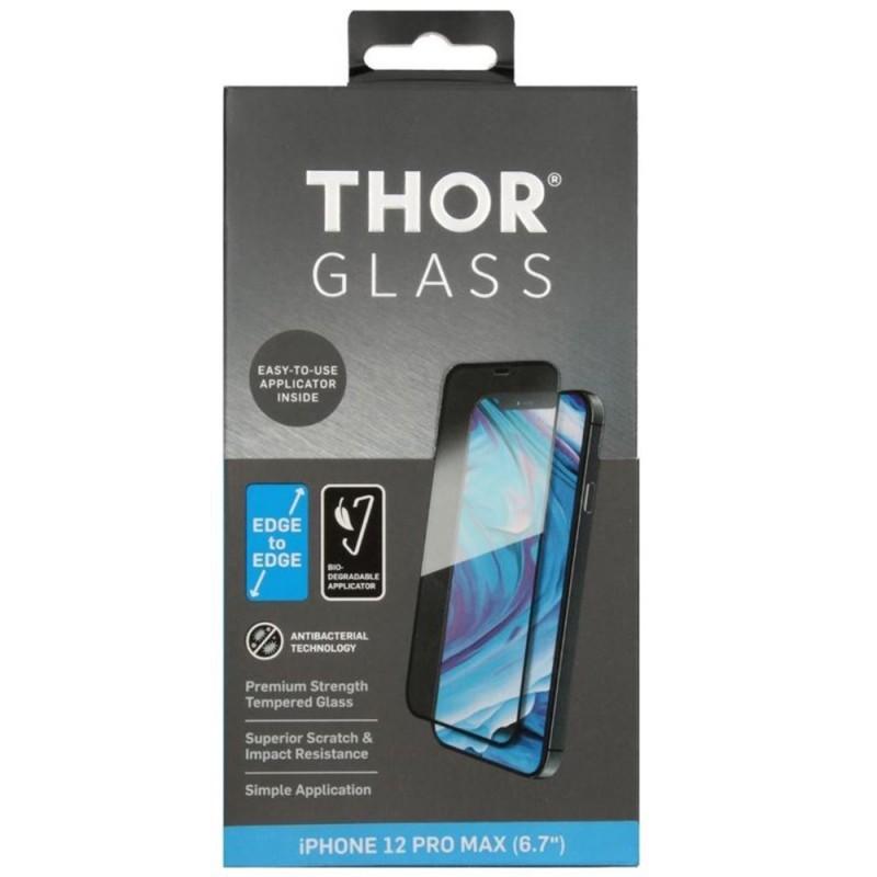 Thor 2D Edge to Edge Glazen Protector iPhone 12 Pro Max - 1