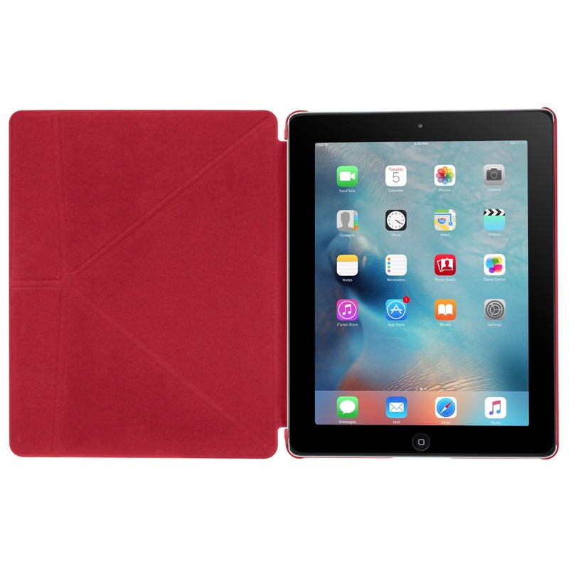 LAUT Trifolio iPad 2 / 3 / 4 Red - 3