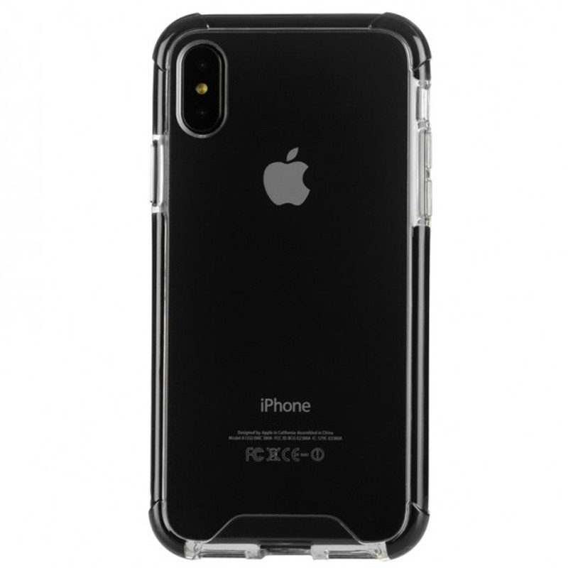 Tucano Denso iPhone X/Xs Hybride Hoes Zwart 02