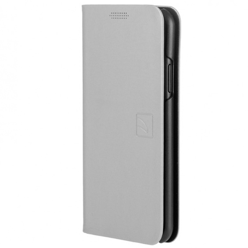 Tucano Filo iPhone X/Xs Folio Hoes Zilver 02