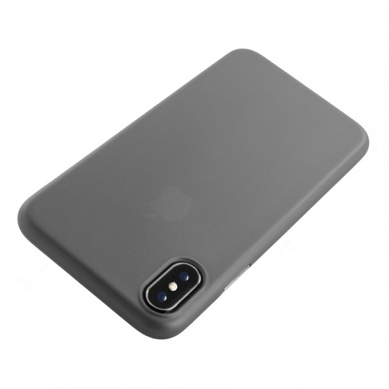 Tucano Nuvola 0,3 mm iPhone X/Xs Case transparant 01