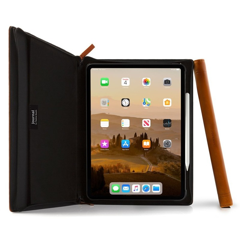 Twelve South - Journal Folio iPad Pro 11 inch cognac bruin 01
