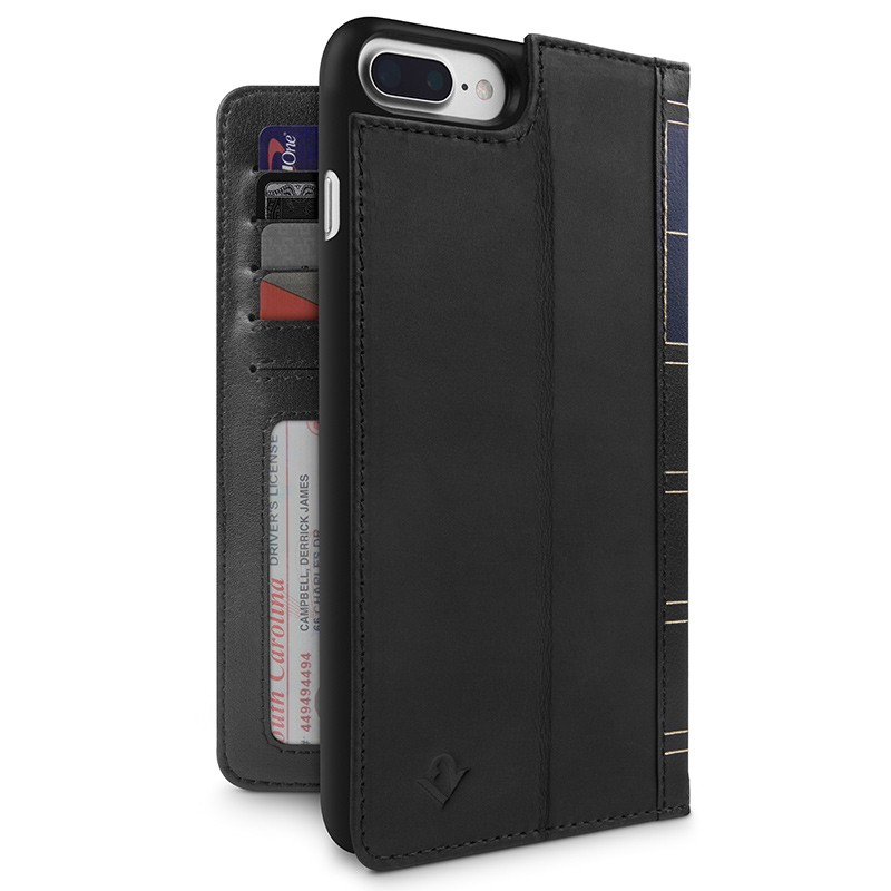 Twelve South - BookBook iPhone 7 Plus hoesje Black 01