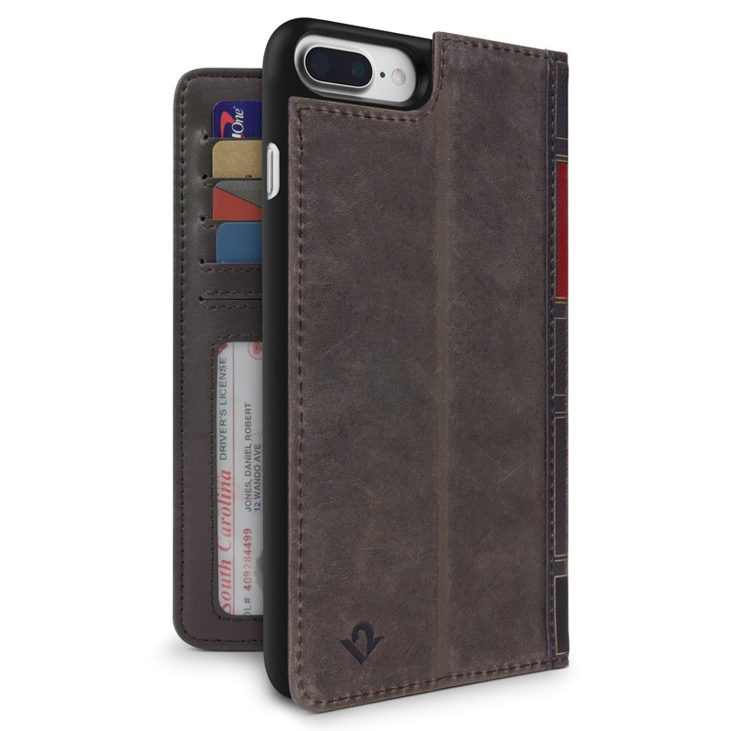 Twelve South - BookBook iPhone 7 Plus hoesje Brown 01