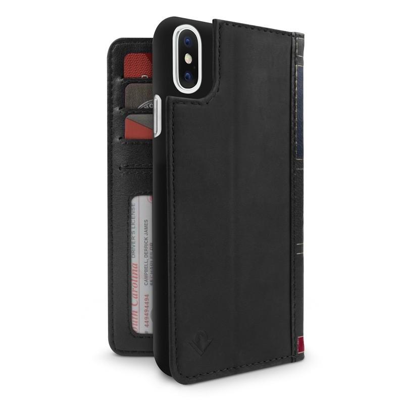 Twelve South BookBook iPhone X/Xs Wallet Zwart - 1