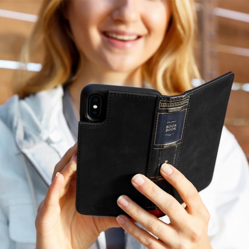 Twelve South BookBook iPhone X/Xs Wallet Zwart - 4