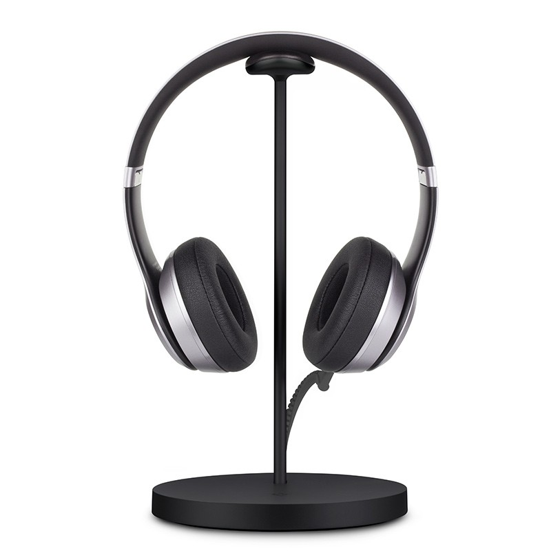 Twelve South - Fermata Headphone Charging Stand Black 01