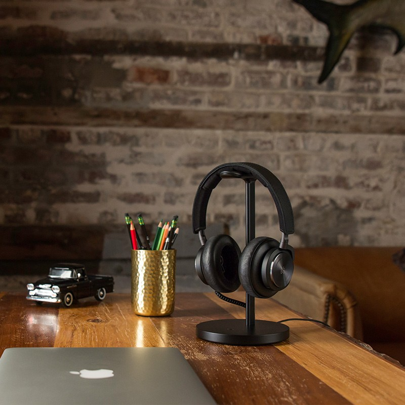 Twelve South - Fermata Headphone Charging Stand Black 06