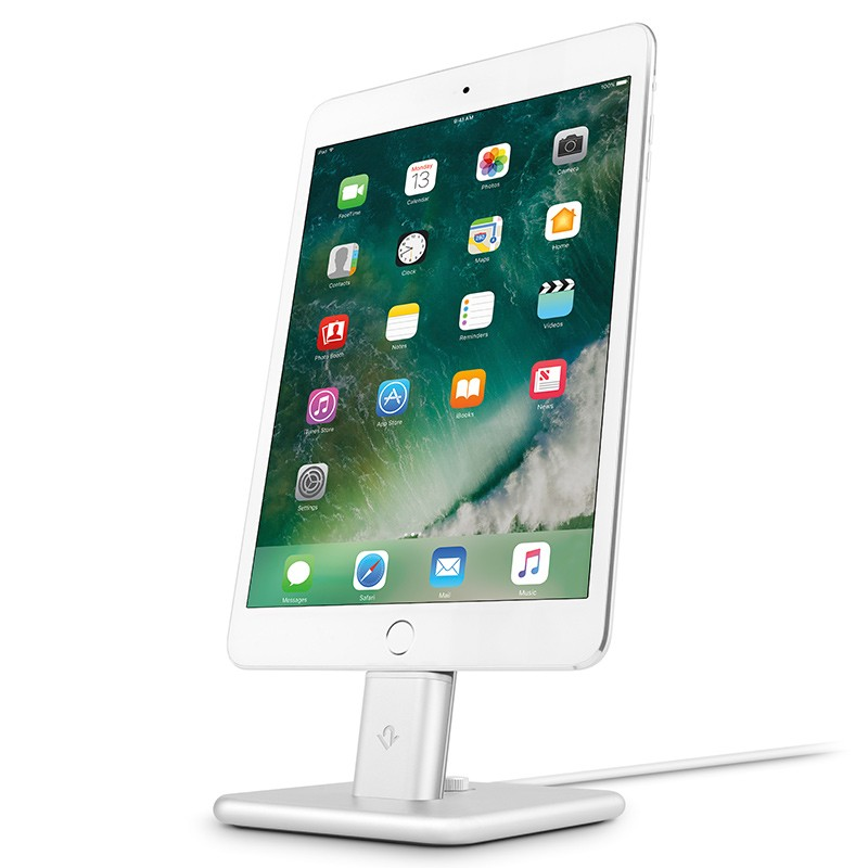 Twelve South - HiRise 2 Deluxe voor iPhone en iPad Silver 02