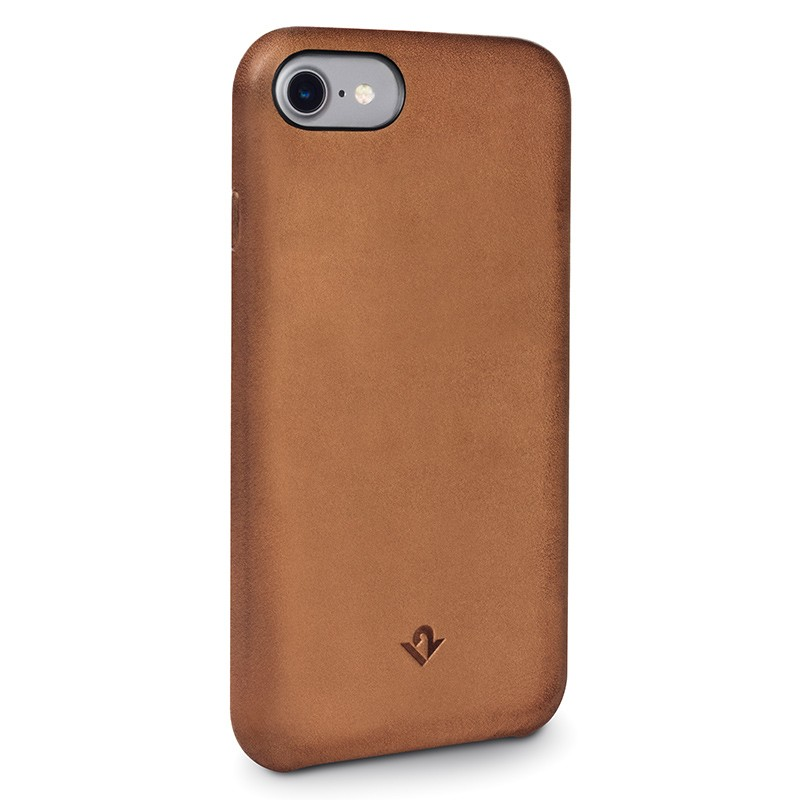 Twelve South - RelaxedLeather iPhone 7 hoesje Cognac 01