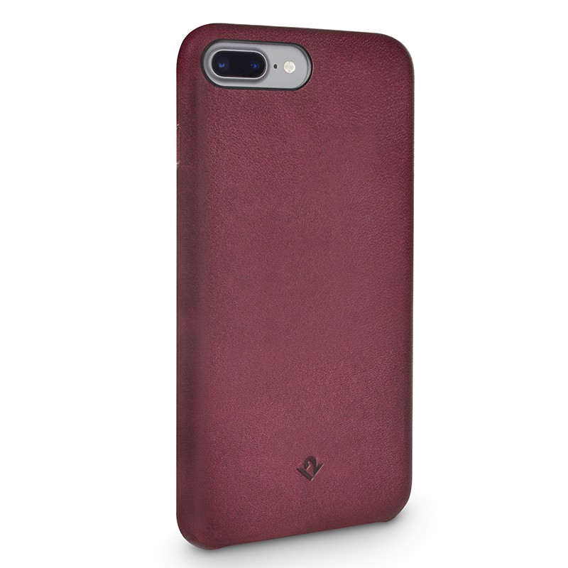 Twelve South - RelaxedLeather iPhone 7 Plus hoesje Marsala 01