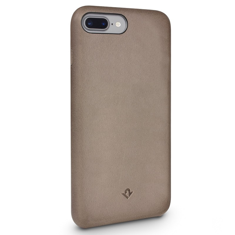 Twelve South - RelaxedLeather iPhone 7 Plus hoesje Warm Taupe 01
