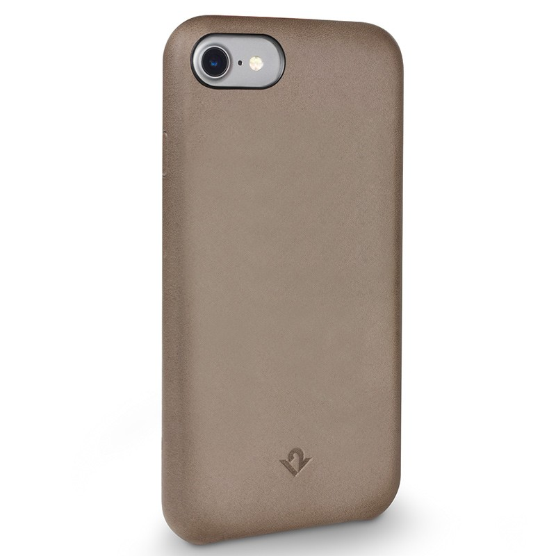 Twelve South - RelaxedLeather iPhone 7 hoesje Warm Taupe 01