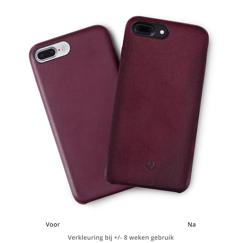Twelve South - RelaxedLeather iPhone 7 Plus hoesje Marsala 03