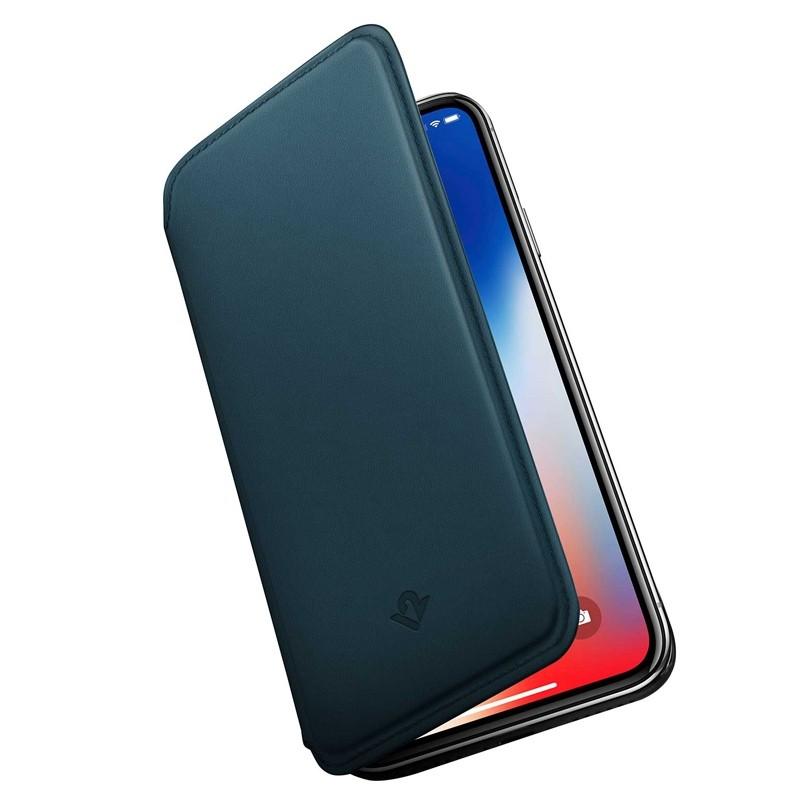 Twelve South SurfacePad iPhone XR Folio Hoes Teal 03