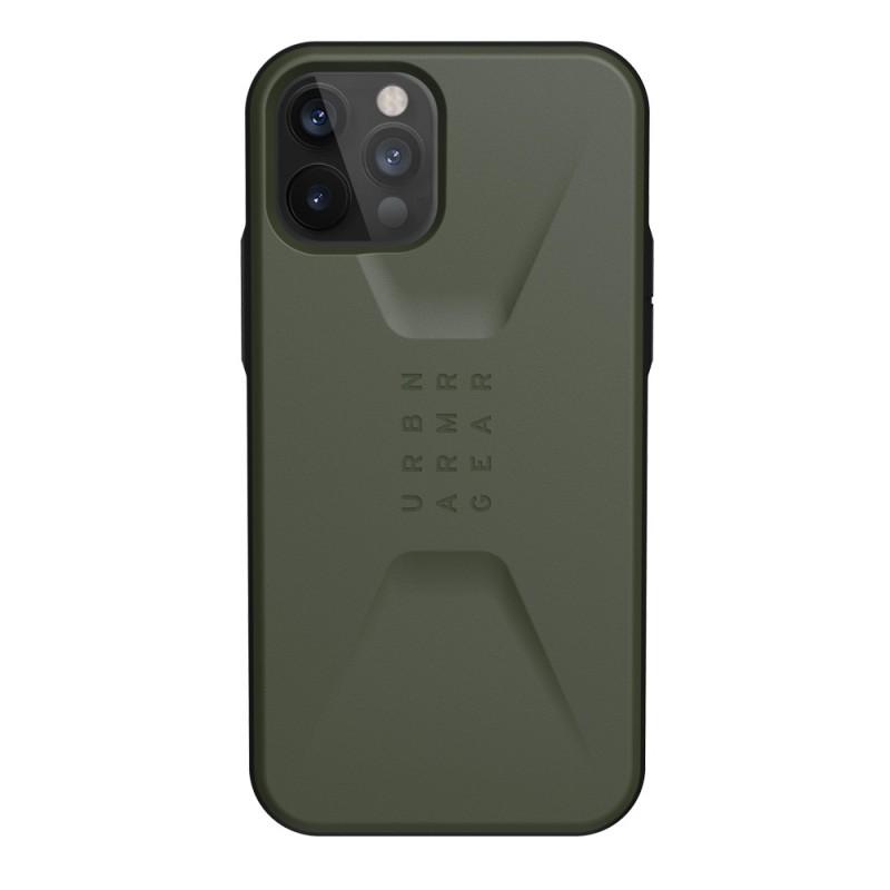 UAG Civilian iPhone 12 / 12 Pro 6.1 inch Groen - 1