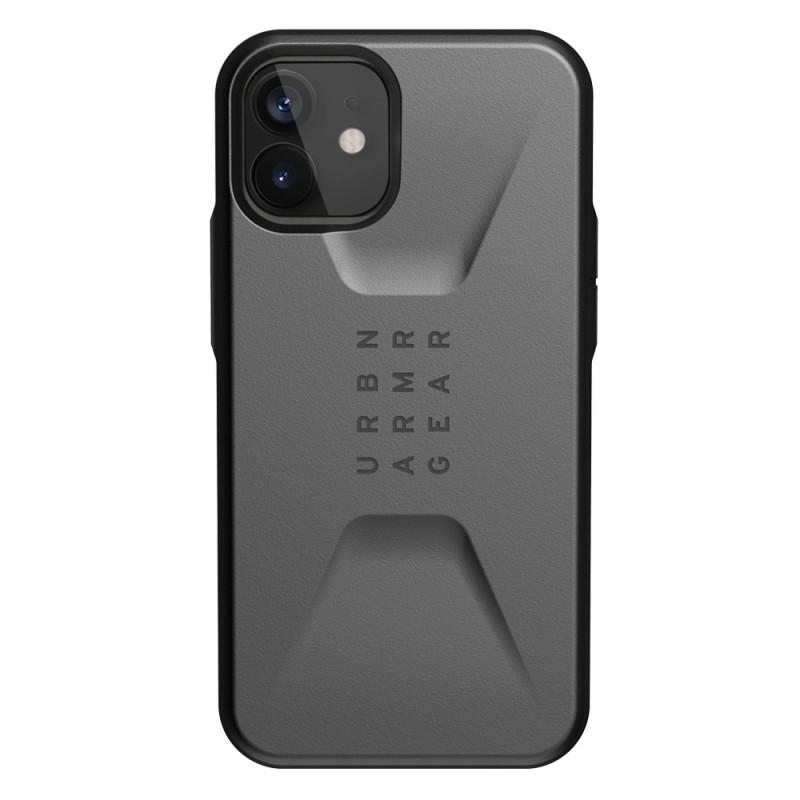 UAG Civilian Case iPhone 12 Mini Zilver - 1