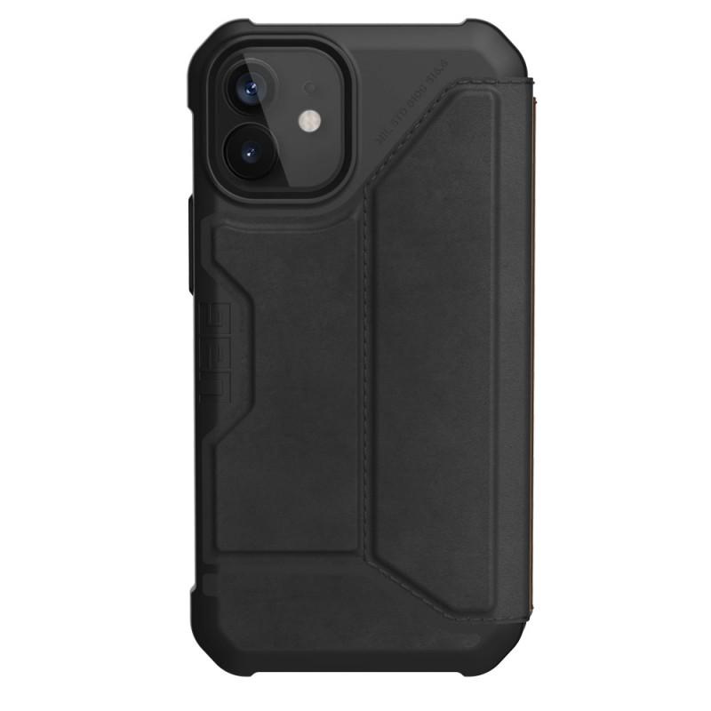 UAG Metropolis iPhone 12 Mini Leather Black - 1