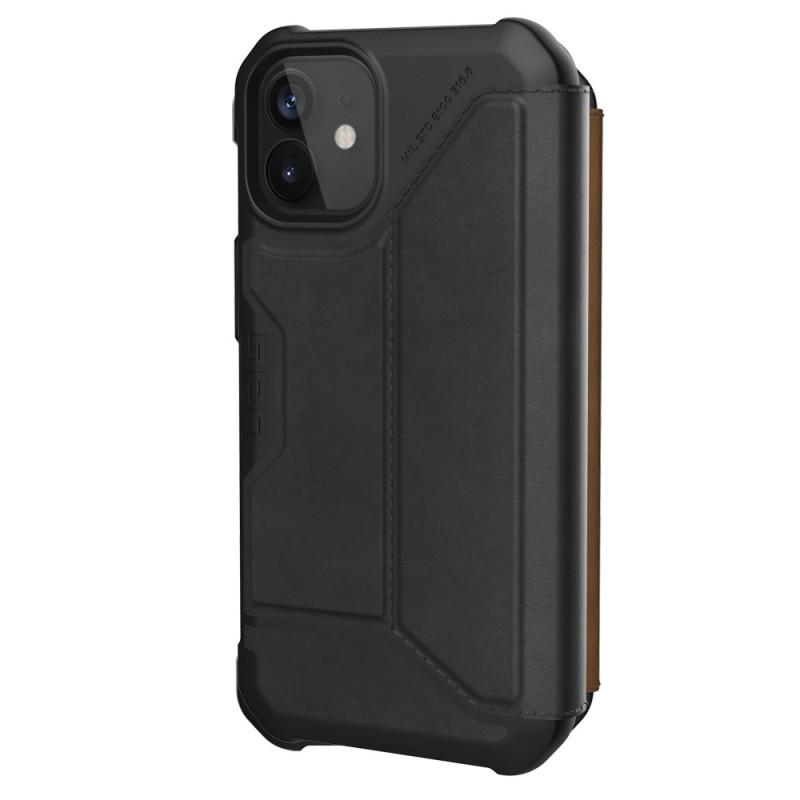 UAG Metropolis iPhone 12 Mini Leather Black - 4
