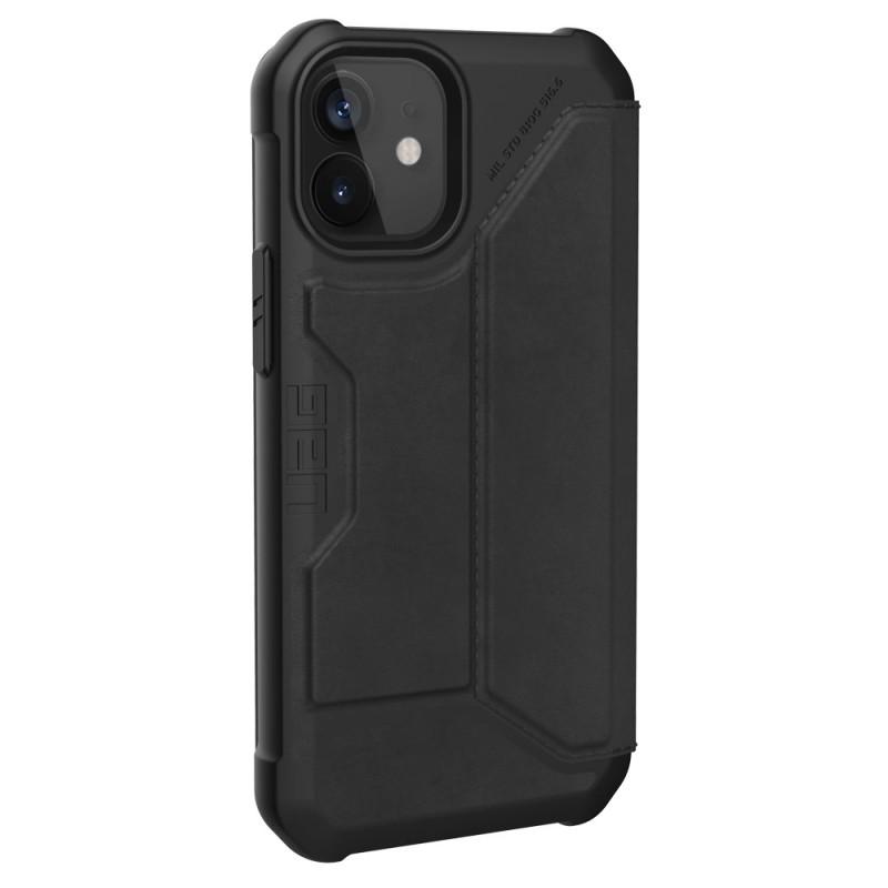 UAG Metropolis iPhone 12 Mini Leather Black - 3