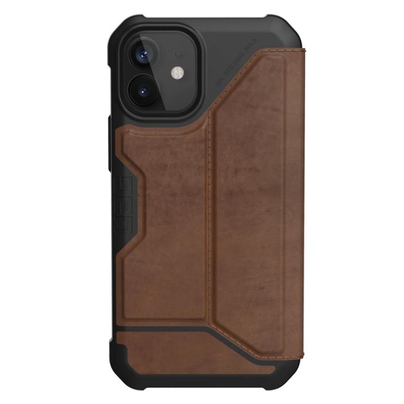 UAG Metropolis iPhone 12 Mini Leather Brown - 1
