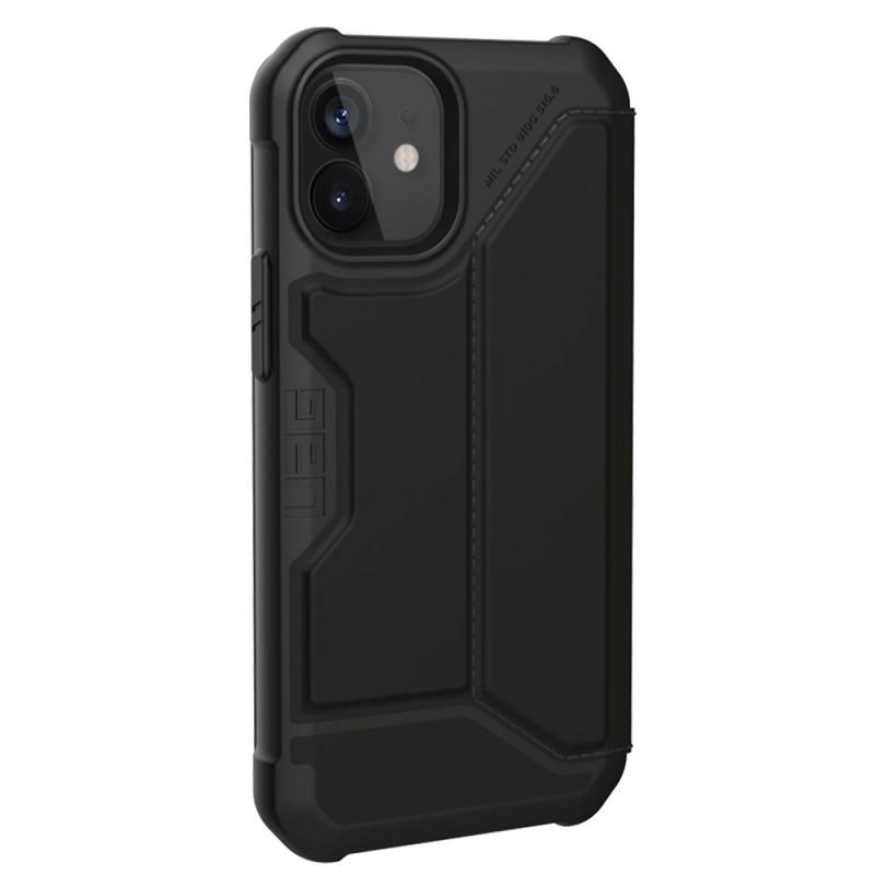 UAG Metropolis iPhone 12 Mini Satin Black - 3