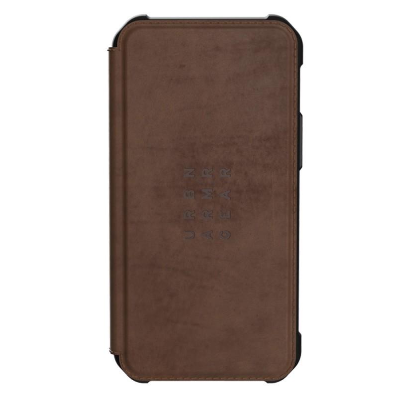 UAG Metropolis Folio iPhone 12 Pro Max Brown Leather - 1