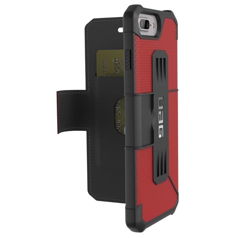UAG - Metropolis iPhone 7/6S/6 Plus Folio Magma Red 01