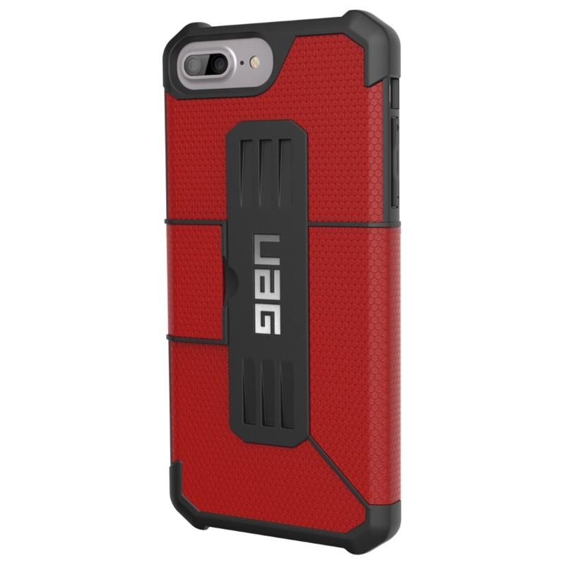 UAG - Metropolis iPhone 7/6S/6 Plus Folio Magma Red 02
