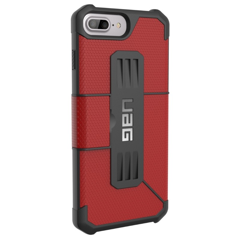 UAG - Metropolis iPhone 7/6S/6 Plus Folio Magma Red 05