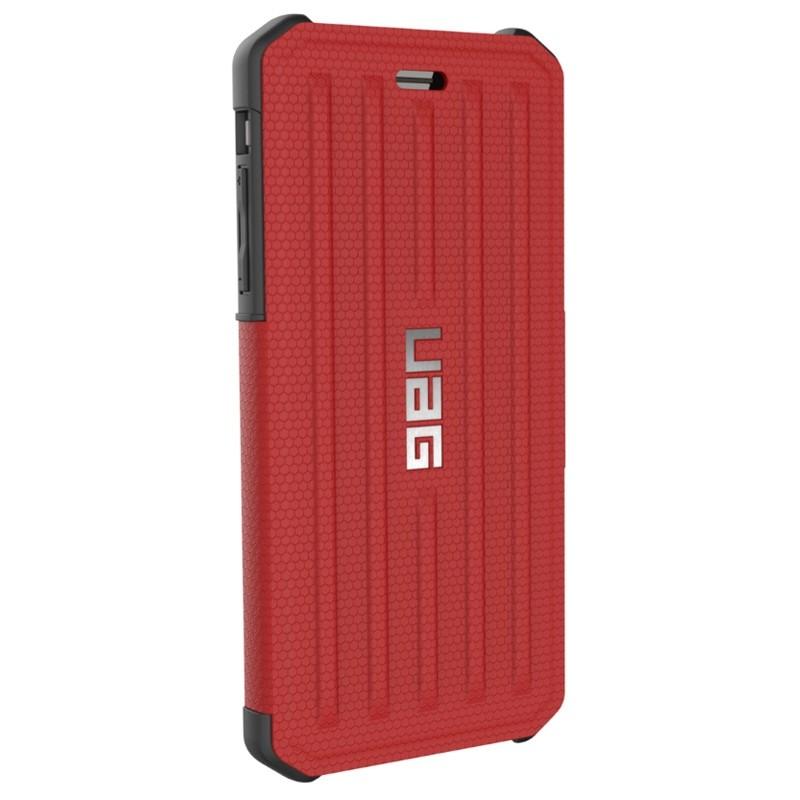 UAG - Metropolis iPhone 7/6S/6 Plus Folio Magma Red 06