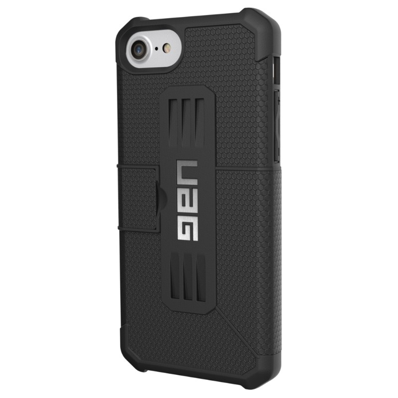UAG - Metropolis iPhone 7/6S/6 Folio hoes Black 02