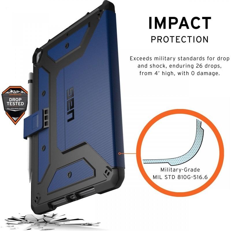 UAG Metropolis iPad 10.2 (2021 / 2020 / 2019) Blauw - 7