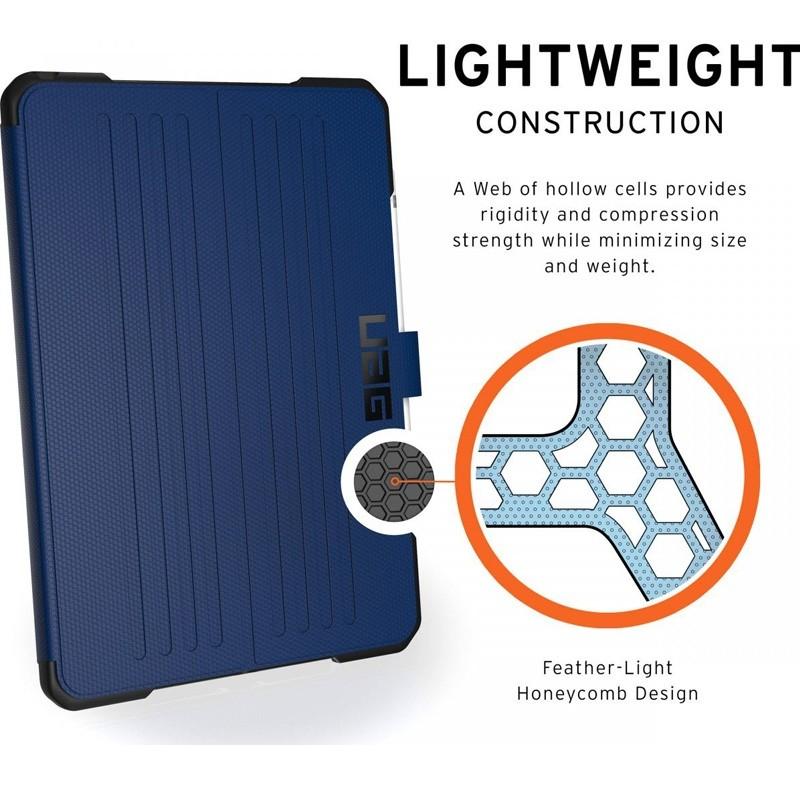 UAG Metropolis iPad 10.2 (2021 / 2020 / 2019) Blauw - 8