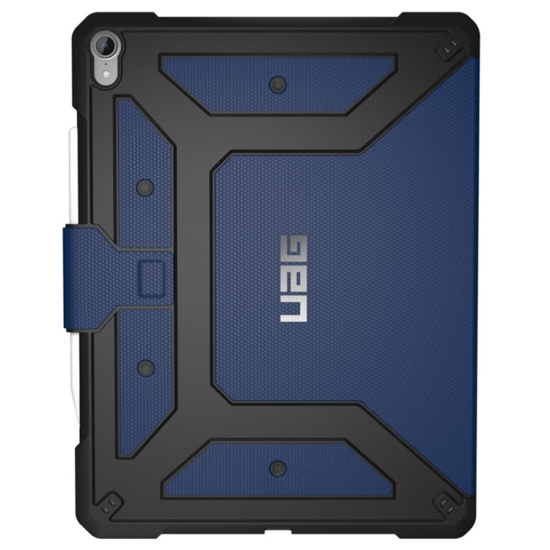 UAG Metropolis iPad Pro 12,9 inch (2018) Case Blauw 01