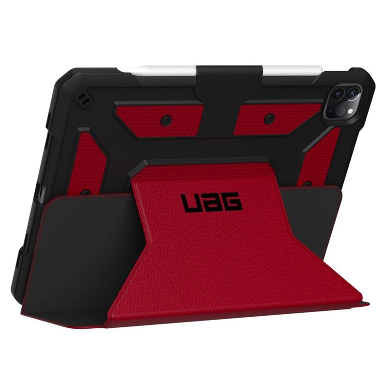 UAG Metropolis iPad Pro 12.9 inch (2020) Magma Rood - 1