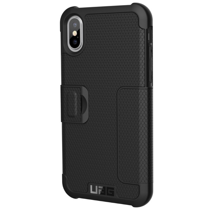 UAG - Metropolis iPhone X/Xs Folio Case Black 02