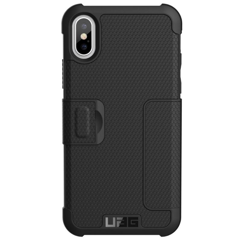 UAG - Metropolis iPhone X/Xs Folio Case Black 03