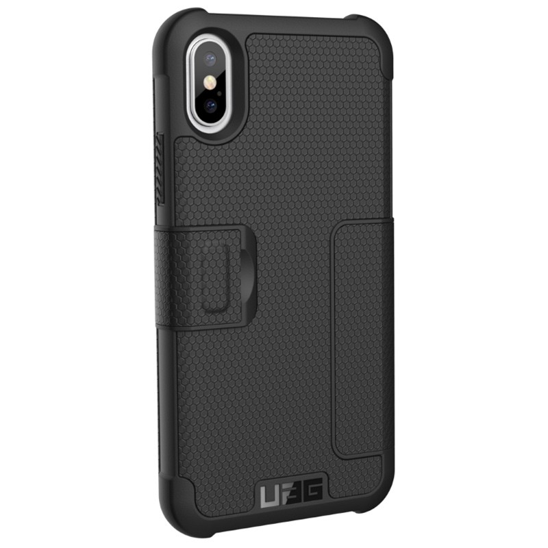 UAG - Metropolis iPhone X/Xs Folio Case Black 04