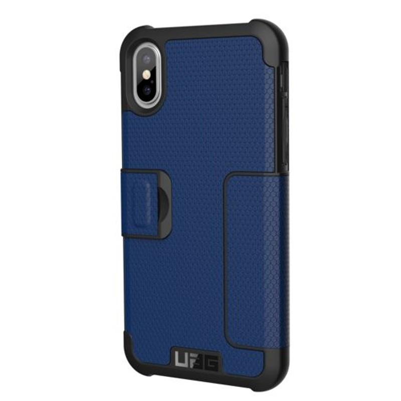 UAG Metropolis iPhone X/Xs Folio Case Cobalt Blue 06