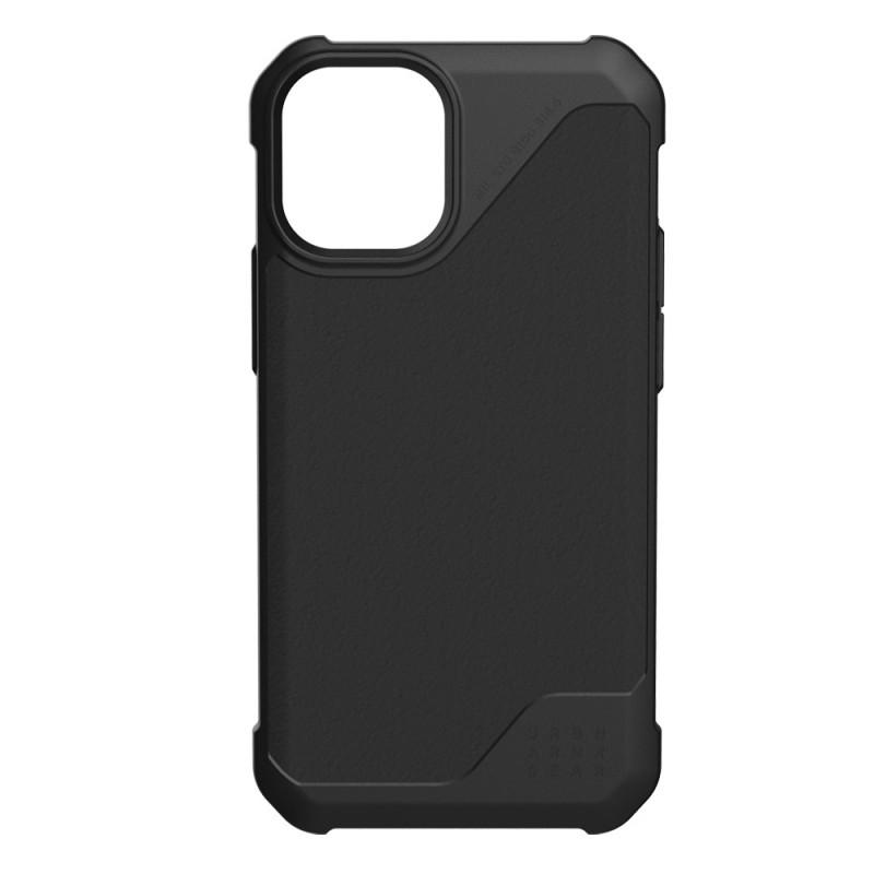 UAG Metropolis LT iPhone 12 / 12 Pro 6.1 Black Leather - 1