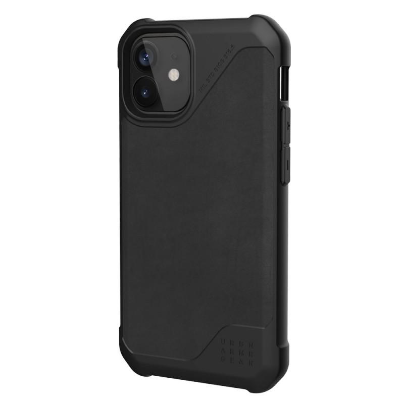 UAG Metropolis LT iPhone 12 / 12 Pro 6.1 Black Leather - 2