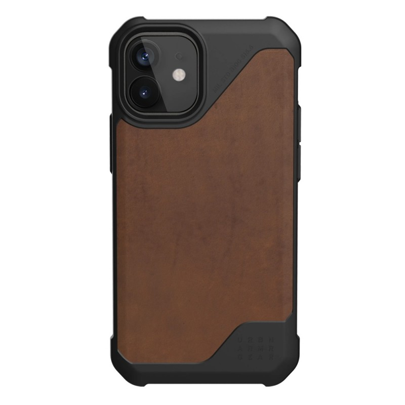 UAG Metropolis LT iPhone 12 / 12 Pro 6.1 Brown Leather - 1