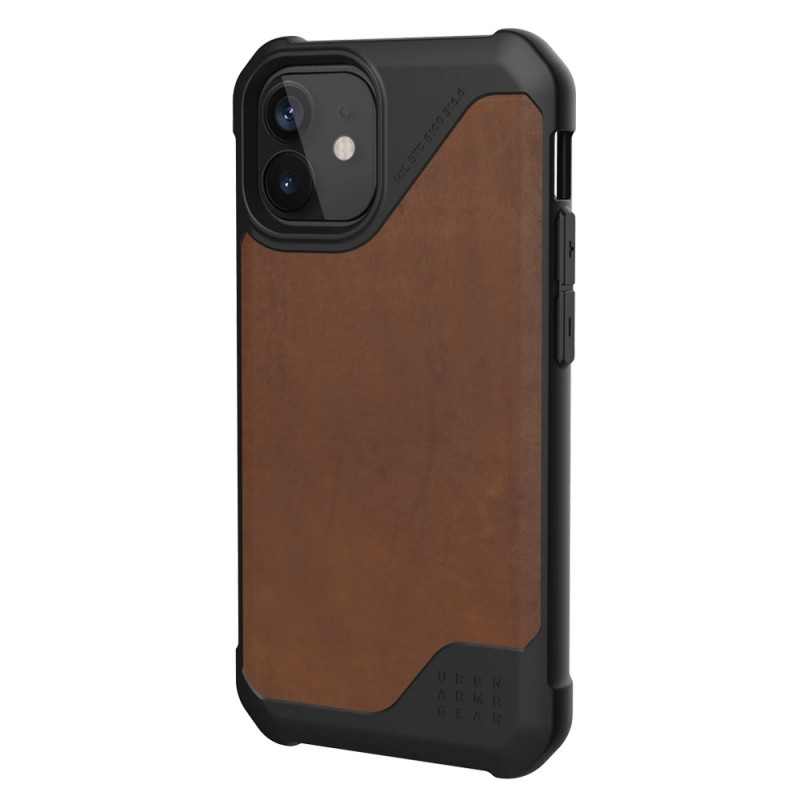 UAG Metropolis LT iPhone 12 / 12 Pro 6.1 Brown Leather - 4