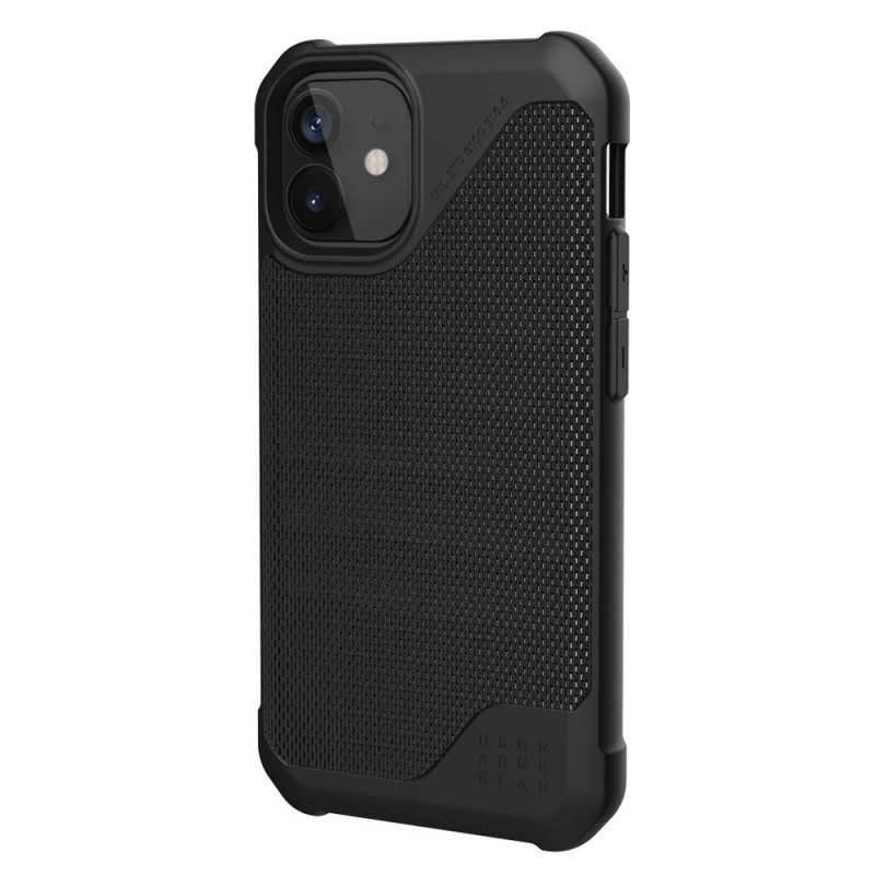UAG Metropolis LT iPhone 12 / 12 Pro 6.1 Black Fiber - 2