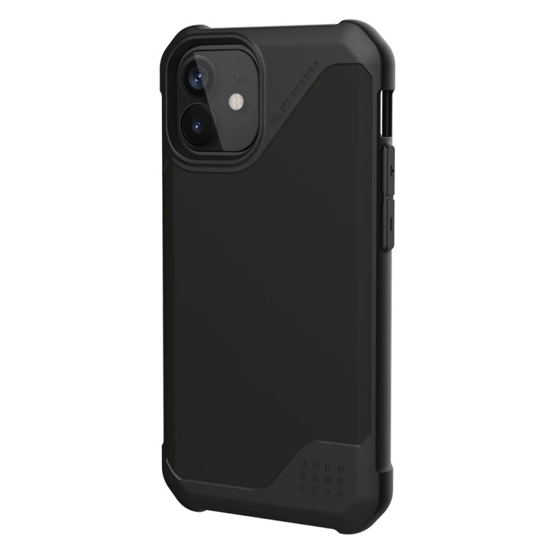 UAG Metropolis LT iPhone 12 / 12 Pro 6.1 Black Satin - 2