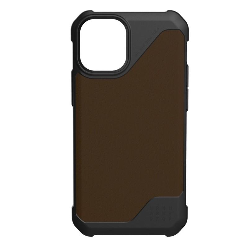 UAG Metropolis LT iPhone 12 Pro Max Brown Leather - 1