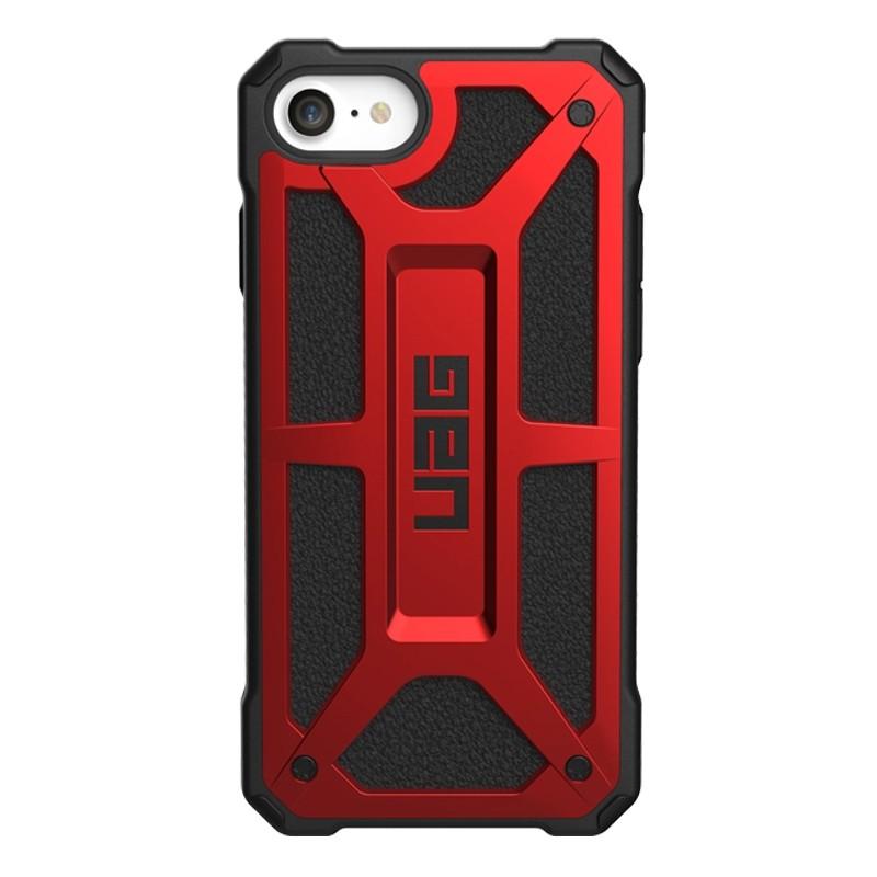 UAG Monarch iPhone SE (2020)/8/7/6S/6 rood-zwart 01
